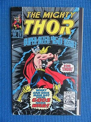 The Mighty Thor # 450 - (Fine) - Super-Sized 450Th Issue - Loki, Odin, Ego