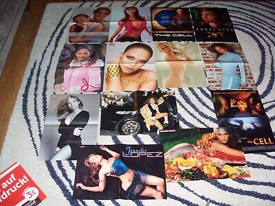 200+ Jennifer lopez Posters & Clippings Collection & Cd GERMAN & USA