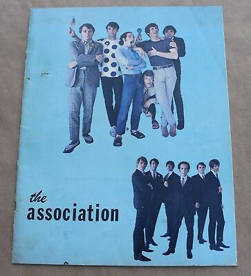 Rare Vintage The Association Band Fan Club Book Casablanca Records