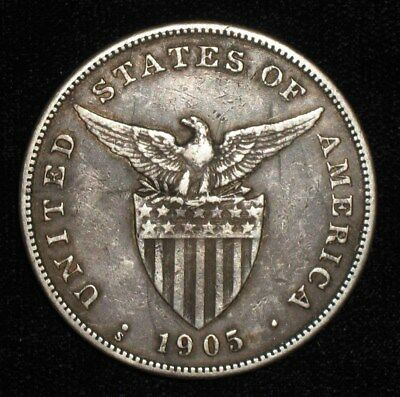 1905, 1 Peso from the Philippine Islands.  No Reserve!