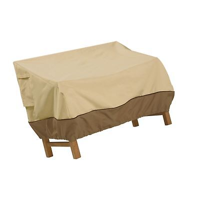 Classic Accessories Veranda Patio Bench/Loveseat/Sofa Cover - Durable and Wat...