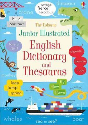 Junior Illustrated English Dictionary and Thesaurus 9781474924481