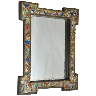 Late 19th Century Antique German Memory Mirror