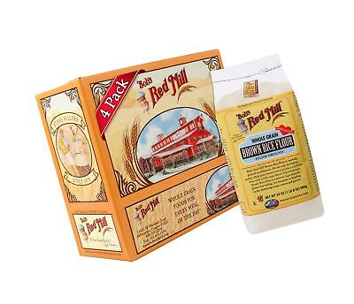 Bob's Red Mill Gluten Free Brown Rice Flour 24-ounce (Pack of 4)