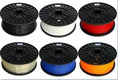 PLA 3D Printer Plastic Filament Polylactic Acid 100 Meter Reel for 3D Printing