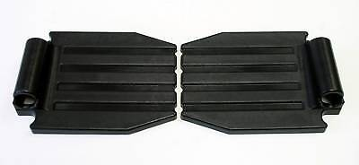 Wheelchair Replacement Parts Foot plates Front Rigging Footplate One Pair FP22
