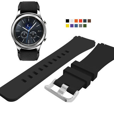 Sport Silicone Watch Strap Wrist Band Bracelet For Samsung Gear S3 Frontier