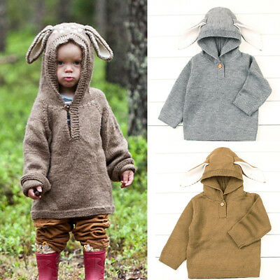 AU Stock Toddler Infant Baby Sweater Children Pullover Knitting Warm Outerwear