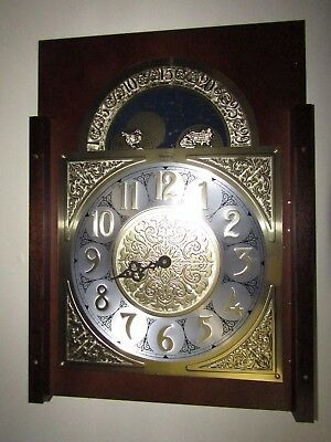 Ridgeway Clarksburg Curio Grandfather Clock R2041 - Face Only - Only 1 Hand