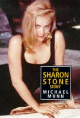 SHARON STONE STORY by Munn, Michael Hardback Book The Cheap Fast Free Post