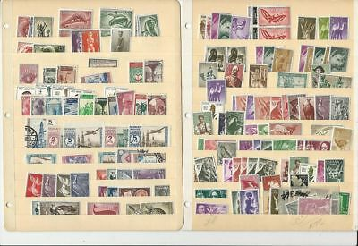 Spanish Colonies Collection, 2 Stock Pages Loaded With Stamps, Mint Lot