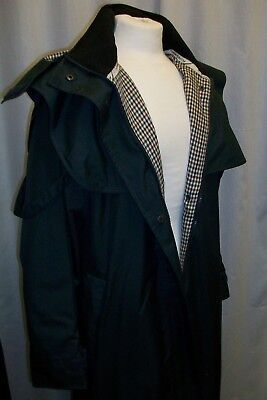 TAYBERRY HORSE RIDING/STORM LONG COAT NAVY pre-owned