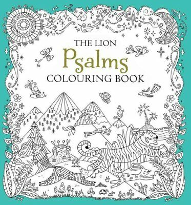 The Lion Psalms Colouring Book by Antonia Jackson 9780745976181
