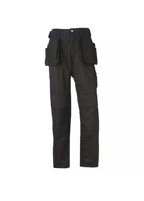 0e06d04c3f HELLY HANSEN Workwear Mens Black Cordura Construction Trousers Pants C148  BNWT