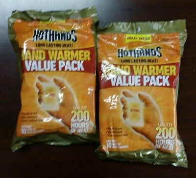 NEW Hothands Hand Warmer Value Pack - Lot of 2!!!!