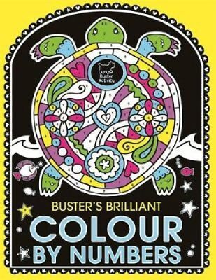 Buster's Brilliant Colour By Numbers by Emily Golden Twomey 9781780552026