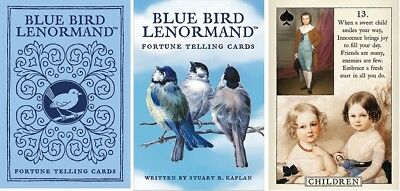 Blue Bird Lenormand Oracle NEW Sealed 38 Cards Instruction booklet Divination