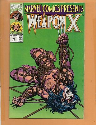 Marvel Comics Presents #75 Wolverine Weapon X NM to NM+
