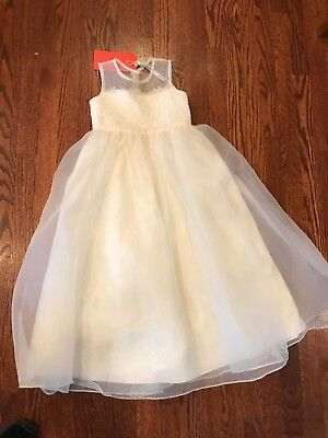 Sweet Beginnings Flower Girl Dress Used Once Sash Included! Size 6
