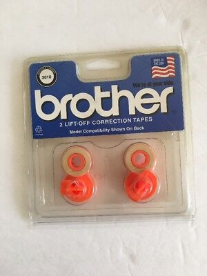 Brother Lift-Off Correction Tape - 3010 2/pack NEW