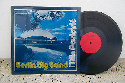Milo Pavlovic & Berlin Big Band-Orig.Hoechst LP Jerry van Rooyen,Francy Boland