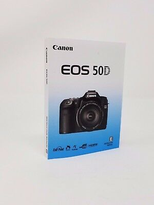 Canon EOS 50D Instruction Owners Manual Book NEW