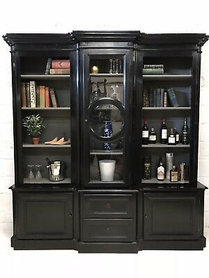 Large Contemporary, Breakfront, Bookcase, Kitchen, Dresser, Display Cabinet