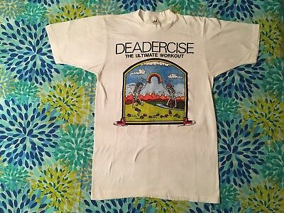 Vintage Grateful Dead 1990's Original Design T Shirt Deadercise