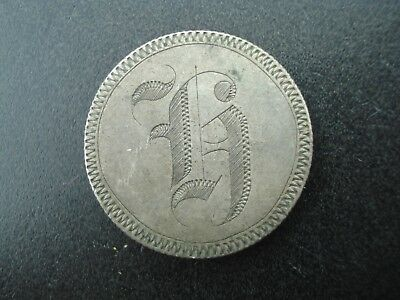 Love Token Seated Liberty Silver Quarter (Damaged)  **NO RESERVE**
