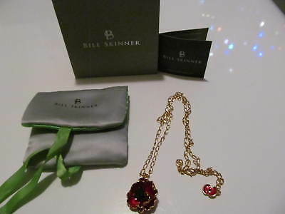 The Poppy Collection Pendant & 48cm Chain by Bill Skinner Boxed