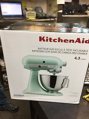 Kitchenaid Ice Blue Tilt Head Stand Mixer 4 5 Quart Model Ksm961c