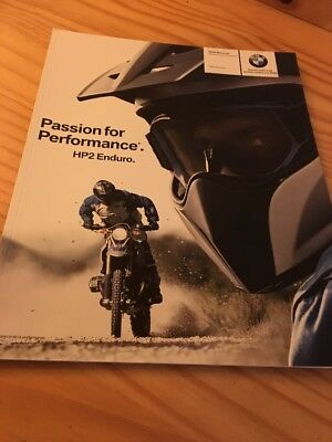 BMW 1200 HP2 Enduro prospectus moto sales brochure prospekt dépliant catalogue