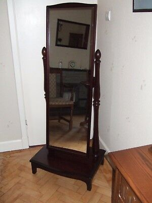 Stag Minstrel  Cheval Mirror