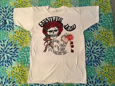 Vintage Grateful Dead 1980's Original Design T Shirt 1984