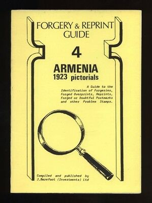 ARMENIA 1923 PICTORIALS FORGERY & REPRINT GUIDE, forgeries, Barefoot