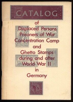 Germany, DISPLACED PERSONS, PoWs, CONCENTRATION CAMP & GHETTO STAMPS in WW2