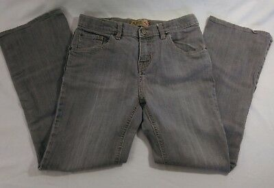 Size 14 The Childrens Place Bootcut Stretch Kids Gray Jeans