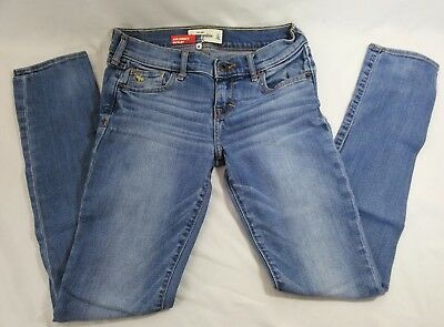 Size 14 Abercrombie Kids Light Blue Denim Jeans