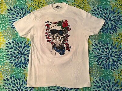 Vintage Grateful Dead 1980's Original Design T Shirt 2 sided 1989