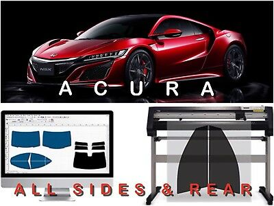 Acura Precut Tint All Sides & Rear Window Tint Kit With 3 Years Warranty