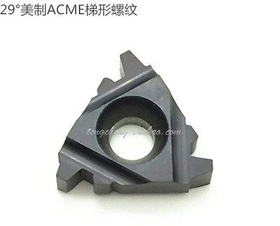 10* 16ER 10ACME Carbide Insert 29° U.S ACME Trapezoidal thread CNC