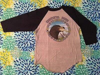 Vintage Grateful Dead T Shirt 2 sided Tour Shirt GDP Winterland Productions 1984