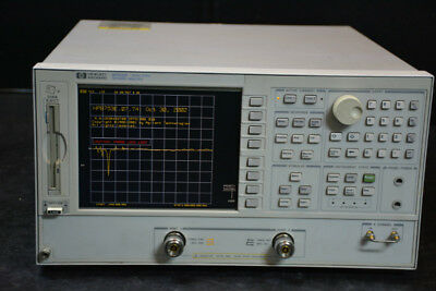 HP Agilent Keysight 8753E / Opt: 006, 010, 8ZE Network Analyzer (30KHz-6GHz)