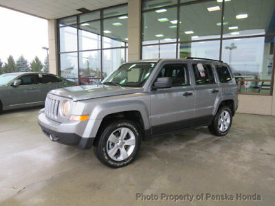 2015 Jeep Patriot 4WD 4dr Sport 4WD 4dr Sport Low Miles SUV Automatic Gasoline 4 Cyl Billet Silver Metallic Clea