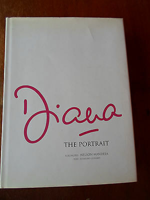 DIANA, THE PORTRAIT, hard cover book, Foreword: NELSON MANDELA, Text: R. COWARD