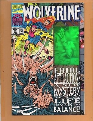 Wolverine #75 1st series NM to NM+