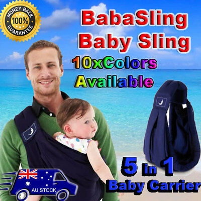 BabaSling Classic Breastfeeding baby baba sling carrier Midnight