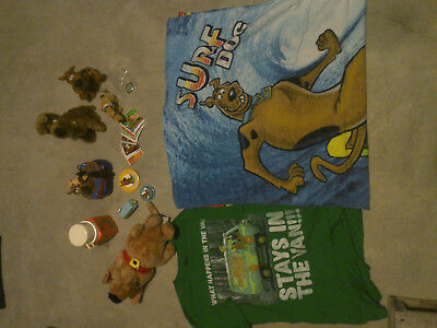 Scooby-Doo Alarm Clock, Thermos, Stickers, Pins, Towel, Shirt & Plush