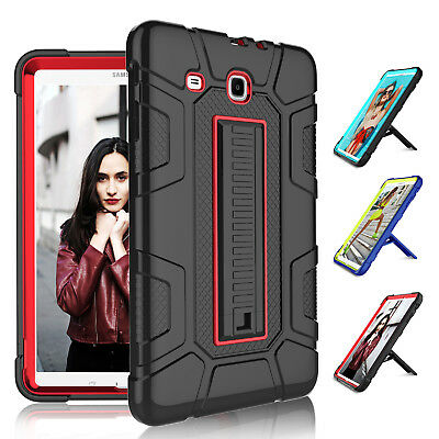 For Samsung Galaxy Tab E 9.6 Case Shockproof Kickstand Protective Hard Cover