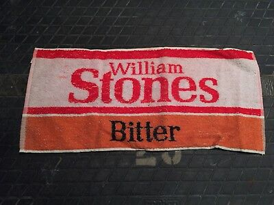 William Stones Bitter Beer Bar Hand Towel Pub British Smith Hargreaves